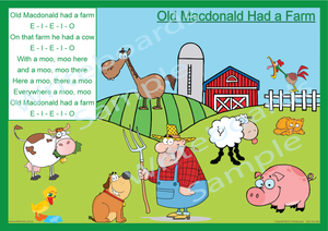 Nursery Rhymes - Writeboards