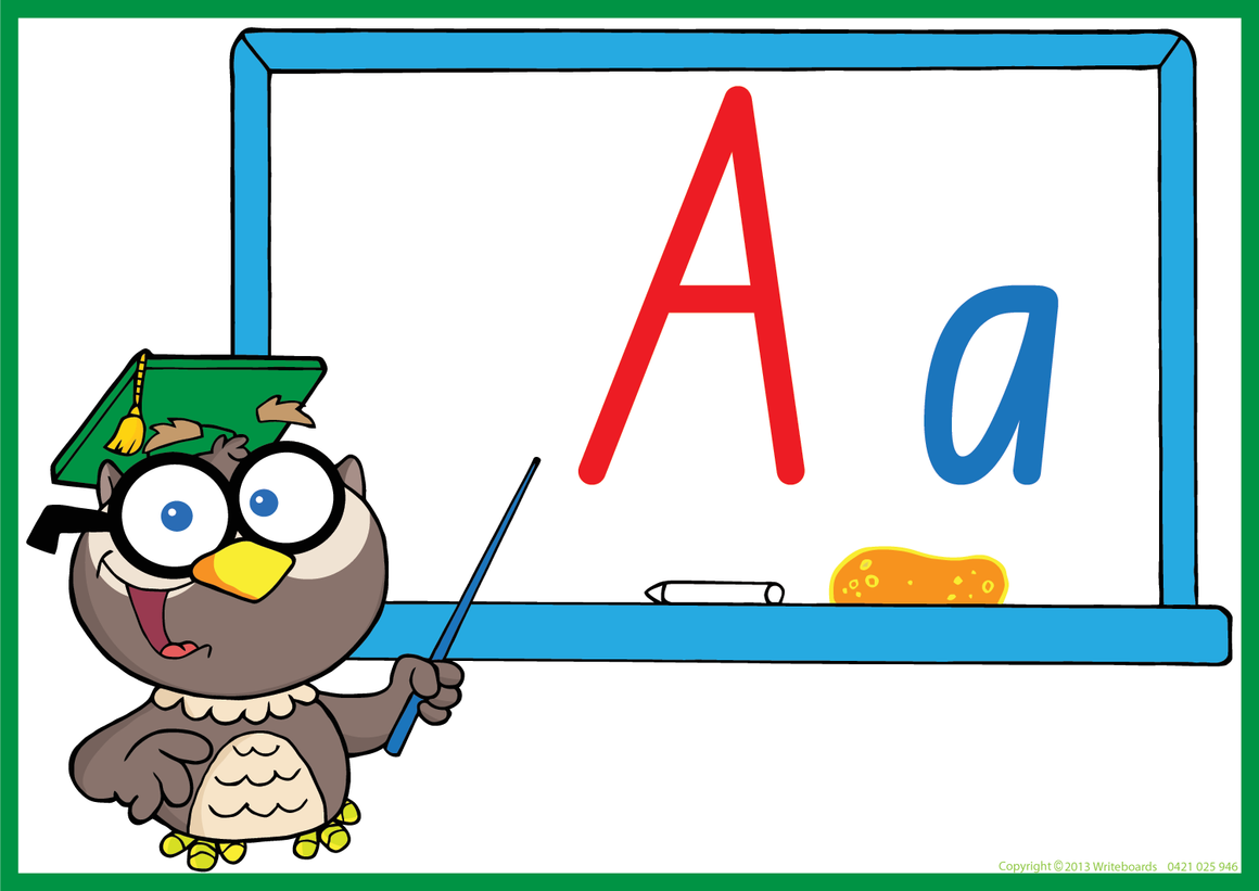 Owl Teacher - NSW Foundation Font - Writeboards