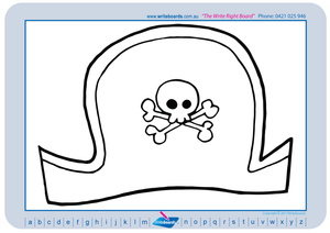 Teach your students to draw pirate related images and pictures with our pirate drawing worksheets.