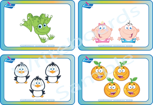 Free Flashcards for groups of Number come with the for SA Handwriting Busy Book