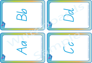 QLD Busy Book Alphabet Pack comes with Free Flashcards