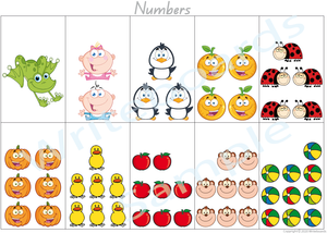 Busy Book Number Pages for QLD Handwriting, Your Child has to add the Numbers