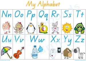 Busy Book Alphabet for QLD Handwriting, QLD Alphabet Busy Book