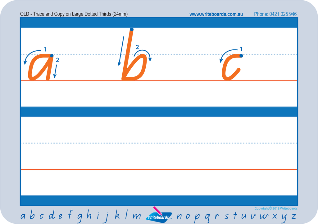 Free Special Needs Worksheets and resources for QLD Modern Cursive Font. Free QLD Special needs resources.