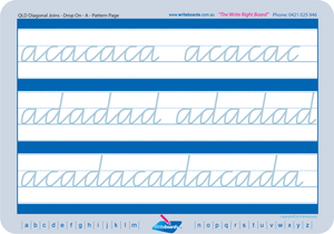 QLD Modern Cursive Font Cursive Writing worksheets, Cursive handwriting for QLD, QCursive cursive worksheets