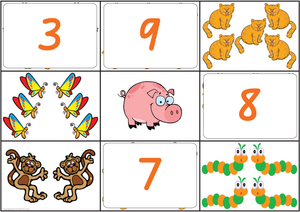 Maths Bingo Game - QLD Handwriting