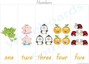 Busy Book Number Pages for QLD Handwriting, Add the Missing Numbers