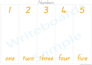 Busy Book for Numbers (QLD Handwriting), Your Child has to add the Pictures