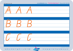 Free QCursive Upper Case Alphabet Handwriting Worksheets, Download Free QCursive worksheets