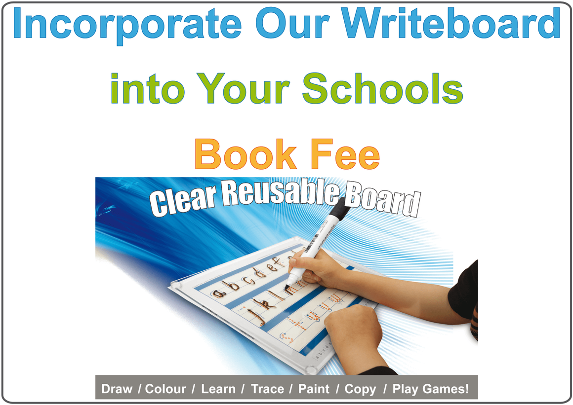 Include the Writeboard in the School Book Fee