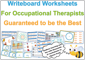 Occupational Therapists resources, Australian handwriting worksheets for Occupational Therapists.