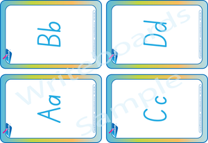 SA Busy Book Alphabet Pack comes with Free Flashcards