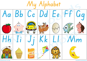 Busy Book Alphabet for SA Handwriting, SA Alphabet Busy Book