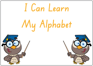 Busy Book Alphabet for SA Handwriting Includes Free Posters for Your Child's Room