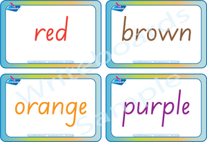 Colour Busy Book for SA Handwriting comes with Free Colour Flashcards