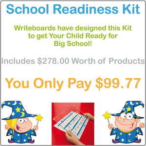 VIC - NT & WA School Readiness Kit completed using VIC Infant Cursive Font