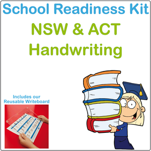 School Readiness Kit for NSW and ACT, NSW Foundation Font School Readiness Kit