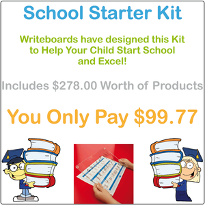 QLD School Starter Kit, QLD Beginner Font School Starter Package, QCursive School Starter Kit