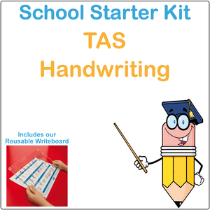 TAS School Starter Kit, TAS Modern Cursive Font School Starter Kit, TAS School Starter package