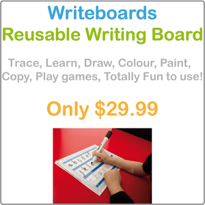 Special Needs Writing Board, Reusable Writing Board for Special Needs Kids, Special Needs Learning Board