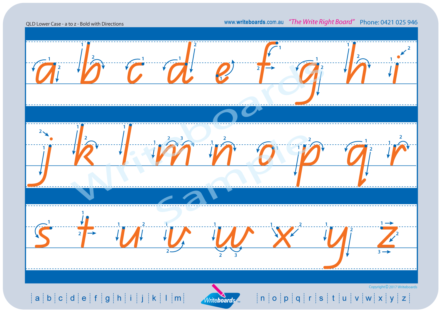 Download Variety Pack - QLD Modern Cursive Font | Writeboards ...