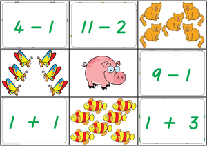 Maths Bingo Game - TAS Handwriting