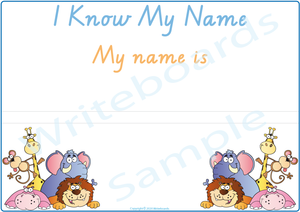 TAS Handwriting - Teach Your Child Their Name Busy Book