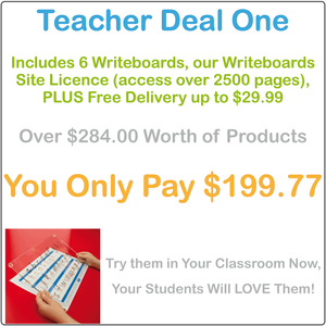 Handwriting Boards and Worksheets for Teachers, Reusable writing board and worksheets for school teachers