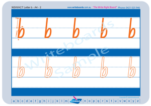 NSW Foundation Font alphabet and number handwriting worksheets, Fantastic for Special Needs Children.