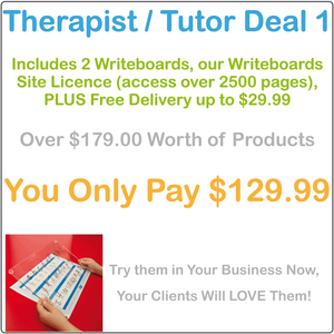 Occupational Therapists Worksheets & Writing Boards, Tutors Worksheets & Writing Boards, Therapists & Tutors Resources