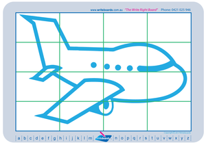 Learn to draw planes, cars, and trains. Excellent for special needs children.