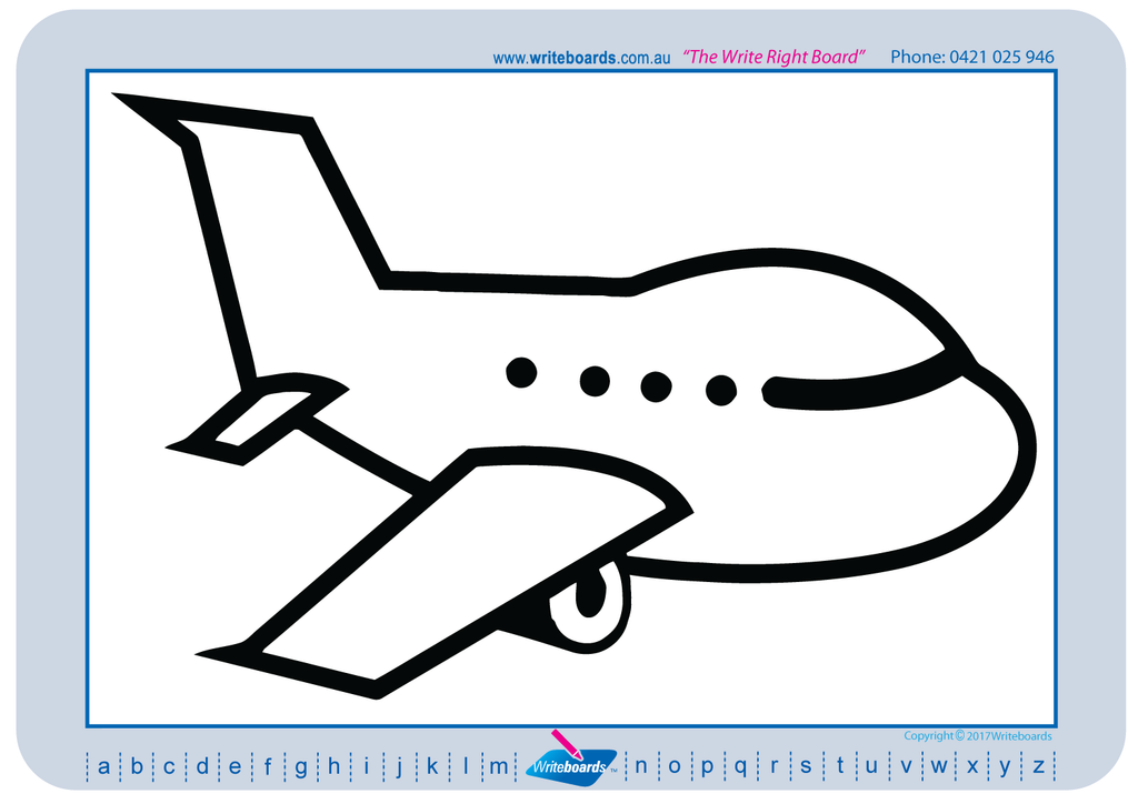 Learn to draw, transport theme created by Writeboards.