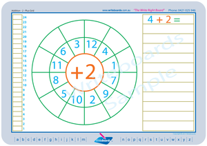 Easy Colour coded Maths Worksheets for Childcare and Kindergarten, Childcare Resources