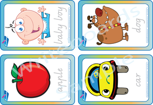Free Flashcards come with our Alphabet Busy Book for VIC - NT & WA Handwriting