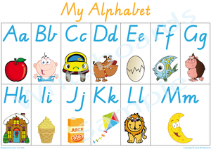 Busy Book Alphabet Pages for VIC  /NT and WA Handwriting