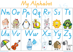 Busy Book Alphabet Pages for VIC /WA and NT Handwriting