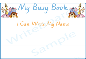 Teach Your Child How to Write Their Name in VIC/ NT & WA Handwriting