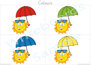Busy Book Colour Pack for VIC /NT & WA, Your child has to add the names