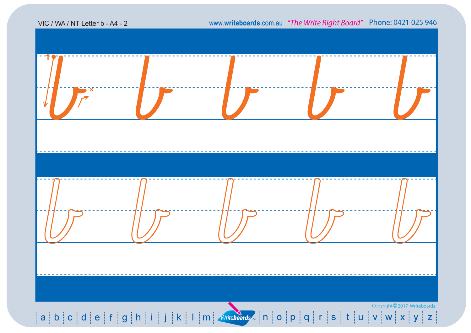 Free VIC Modern Cursive Font Handwriting Worksheets for Parents. Check