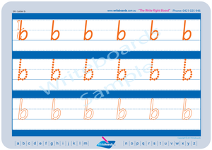 SA Modern Cursive Font Early Stage One Lowercase Alphabet Tracing Worksheets for Teachers