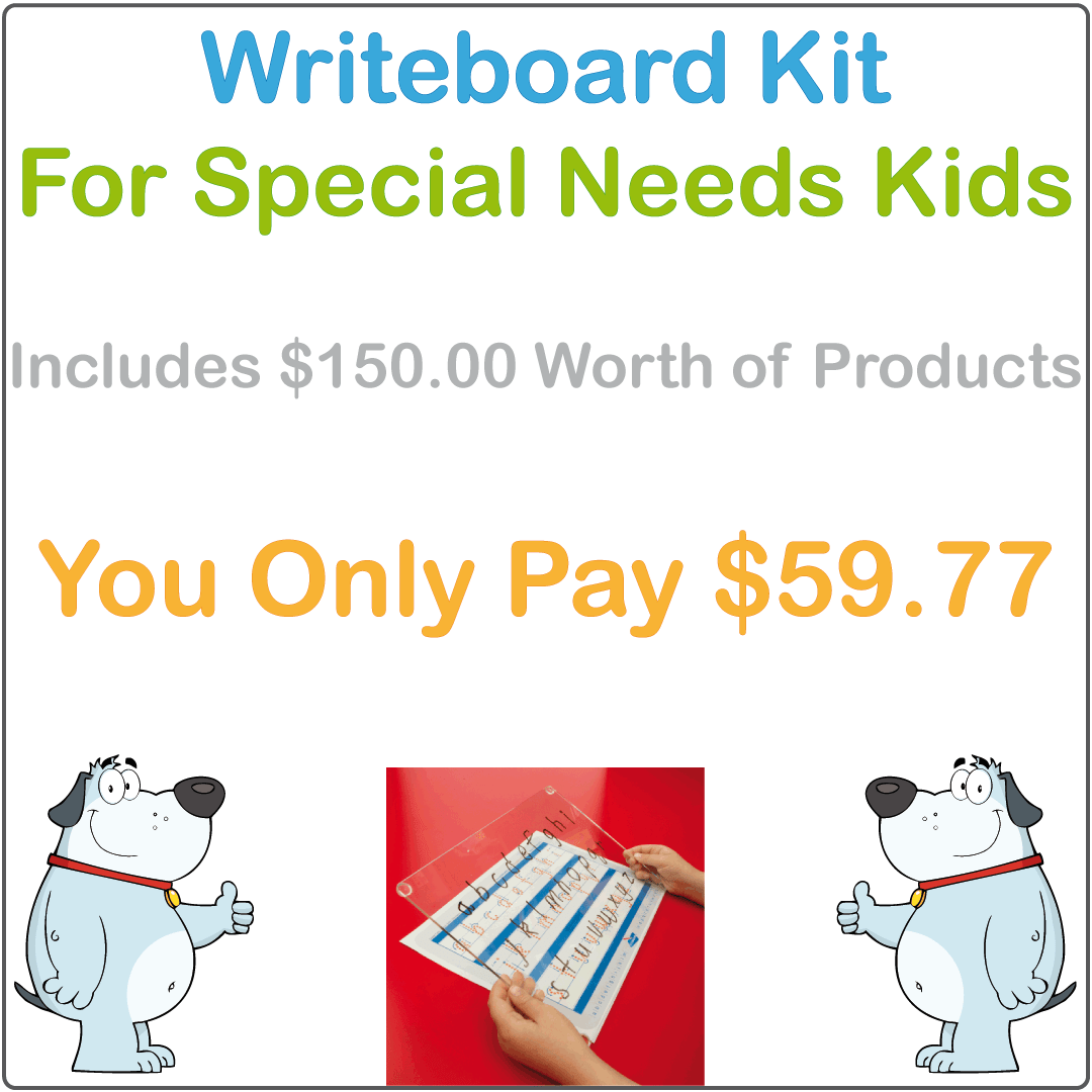 Special Needs Handwriting Kit, Special Needs Learning Package, Special Needs Starter Package, Aussie Special Needs Kit
