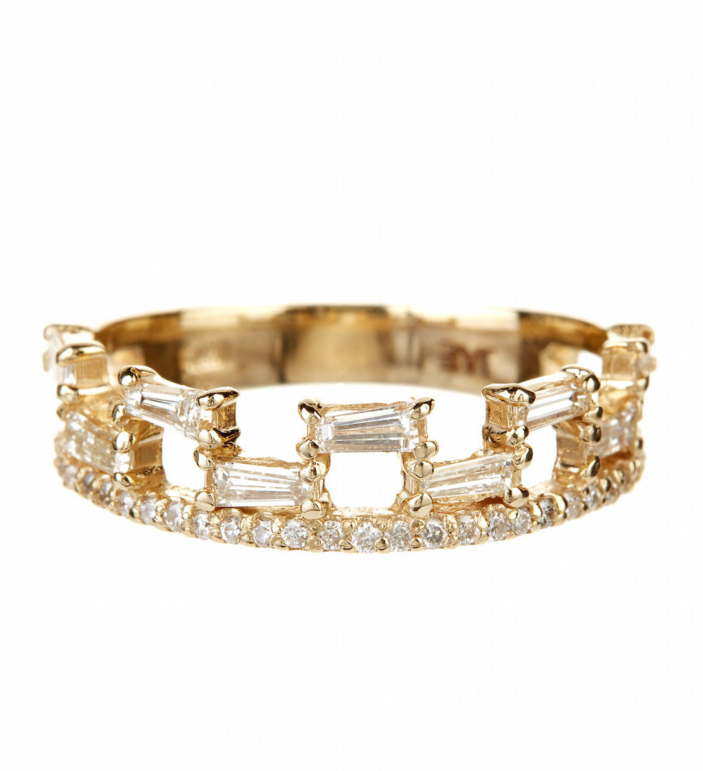 Jae Jewelry 9 Baguette Ring