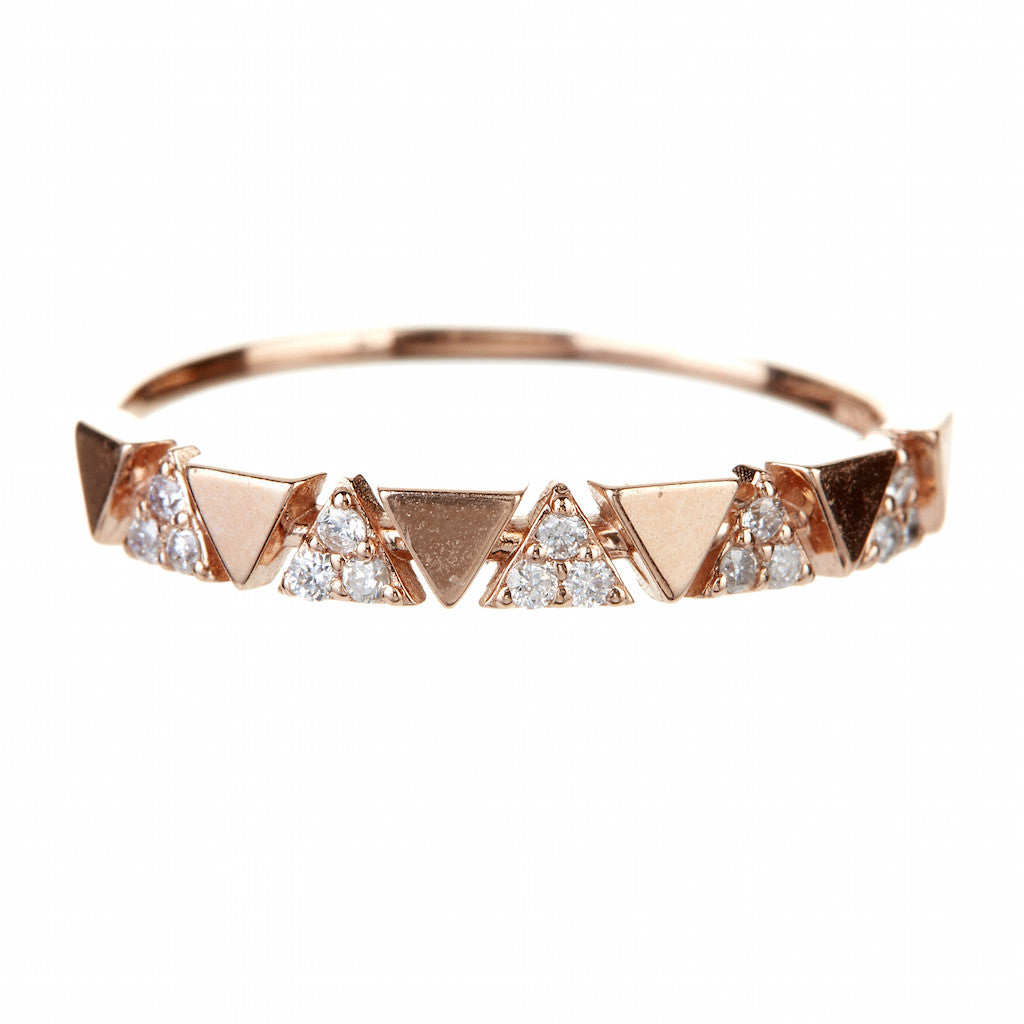 Jae Jewelry 5 Pyramid Stackable Ring