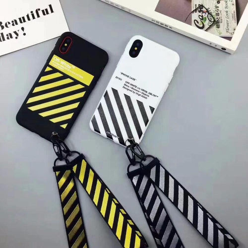 Off White w/ Lanyard