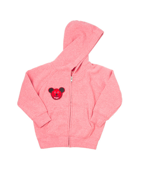 Mouse/Bee + Cause Toddler Hoody Rose