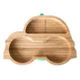 Ecorascals Bamboo Car plate with Super Suction Base