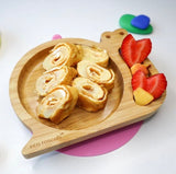 Ecorascals Bamboo Snail Baby Suction Plate