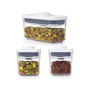 OXO POP CONTAINER, THREE PIECE STARTER SET