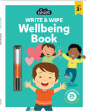 Junior Explorers Write and Wipe: Wellbeing Book