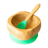 Ecorascals Baby Bamboo Suction bowl and Spoon Set